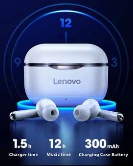 Latest technology Lenovo Livepods Bluetooth 5.1 Ipx5 splash proof Deep bass