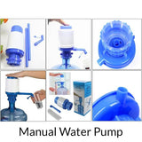 Manual Water Pump with Water Switch Big Size (030) | 24HOURS.PK
