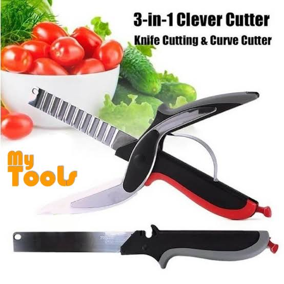 Smart Cutter 6 In 1 Scissor Cutter Smart Knife (035) | 24HOURS.PK