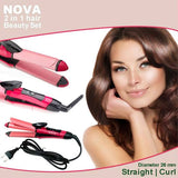 Nova 2 in 1 Hair Straight Curl 0103 | 24HOURS.PK