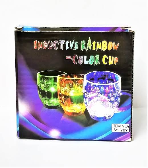Inductive Rainbow Color Magic Cup, 7-OZ | 24HOURS.PK