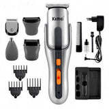 Kemei Kemei KM-680A - 8 in 1 Grooming Kit Shaver & Trimmer for Men - | 24hours.pk