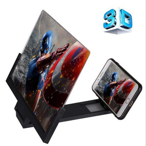 7 inch s3D MOBILE PHONE VIDEO AMPLIFIER ENLARGED SCREEN MAGNIFIER ( YOUR PORTABLE HOME CINEMA)