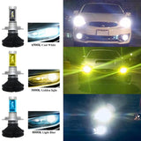 Lumileds X3 LED Headlight 6000LM 50W | 24HOURS.PK