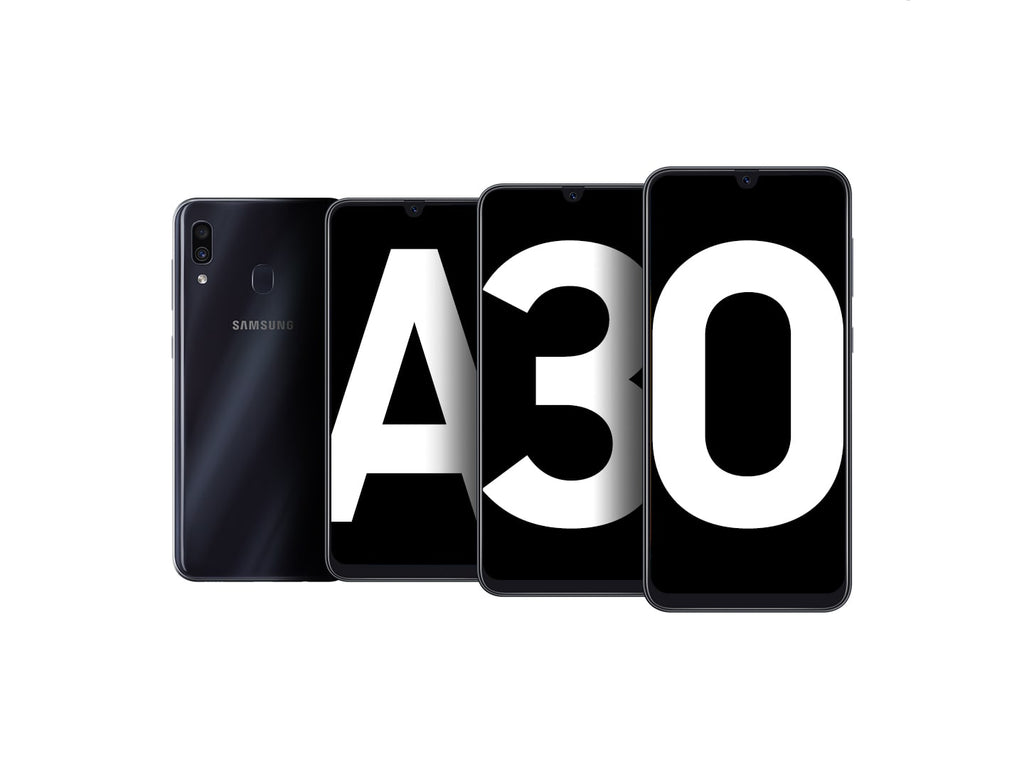 Galaxy A30 - Display 6.4 - Dual camera - ROM 64GB - RAM 4GB - Face Recognition - Battery 4000 mAh | 24HOURS.PK