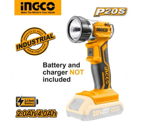 Ingco Lithium-Ion work lamp CWLI2001