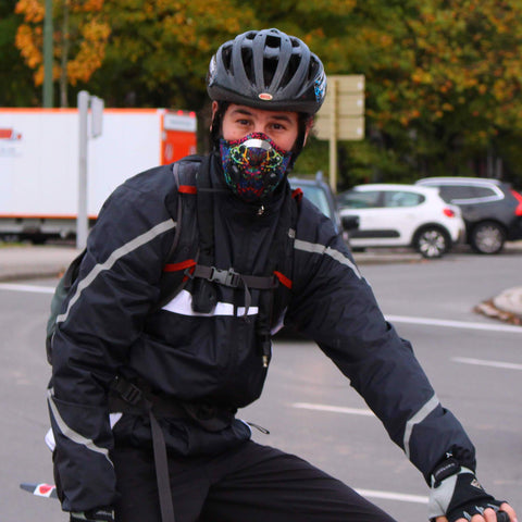 Pure Breathe face mask - Anti Pollution mask for Cycling