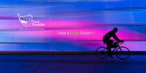 Pure Breathe | Face Mask N95- Pollution - Pure Breathe - cyclist - Collection