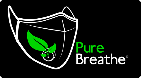 logo pure breathe - Anti pollution mask
