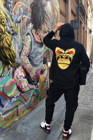 Sweat à capuche zip
