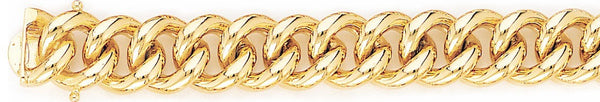 13mm Miami Cuban Curb Link Bracelet
