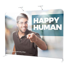 Load image into Gallery viewer, 8' EZ Tube Straight Fabric Double-Sided Graphic Package