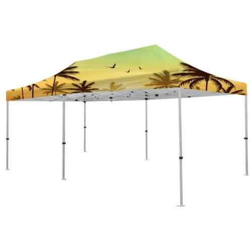 Premium Aluminum (Silver)20' Event Tent Kit (Full-Bleed Dye Sublimation)