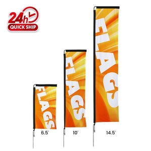 Premium Rectangle Flags