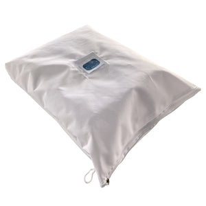Premium Fitted Table Cover 8ft 4-Sided (Close Back) (Full-Color Dye Sublimation, Full Bleed)