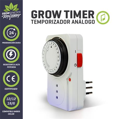 Timer Analogo - Grow Genetics | Z1
