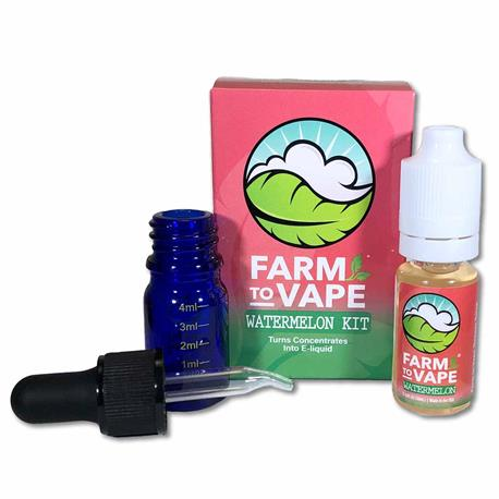 Kit E-liquid Watermelon + Botella Mezcla - Farm to Vape | Z1