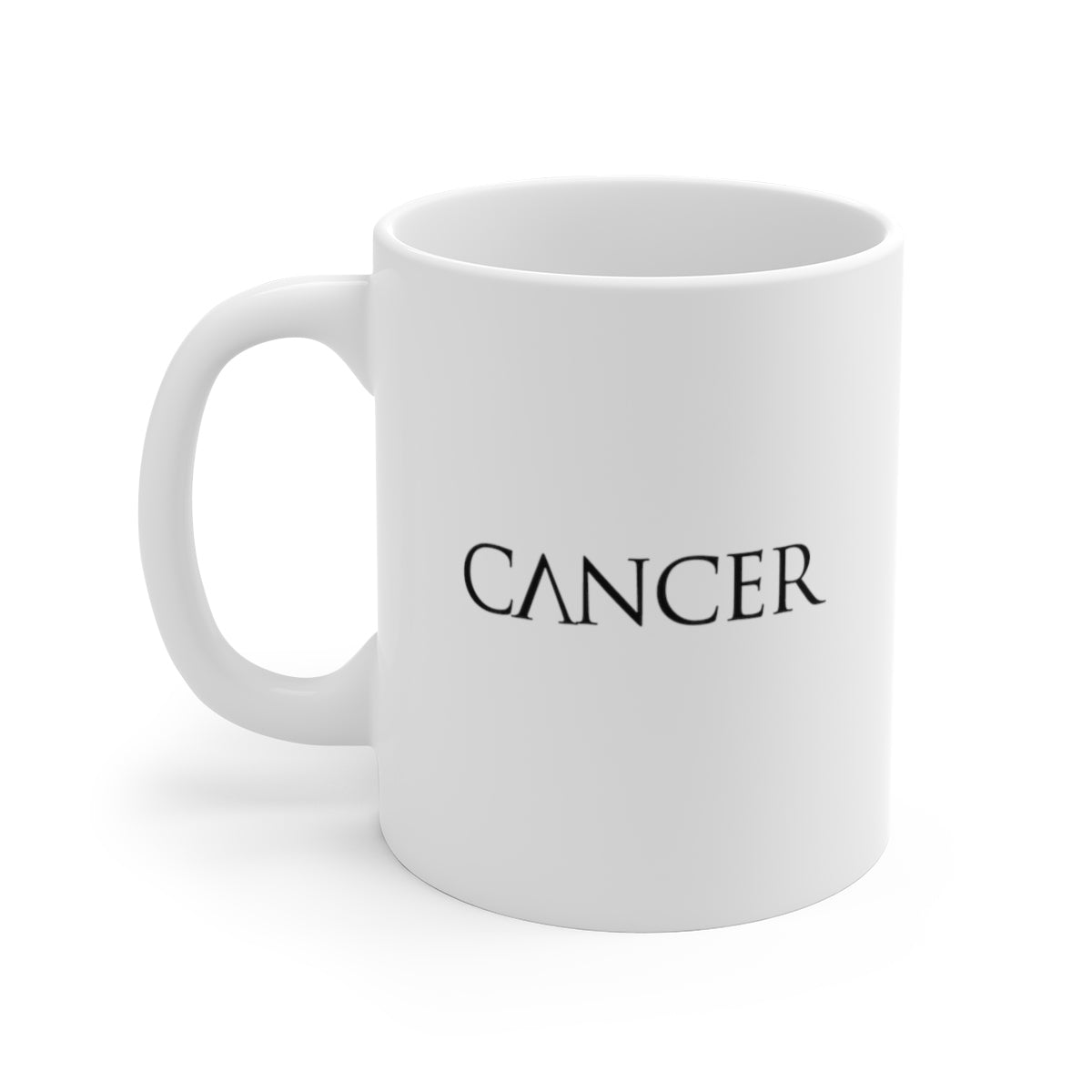 Cancer White Ceramic Mug
