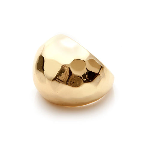 Design Six Gold Detroit Ring