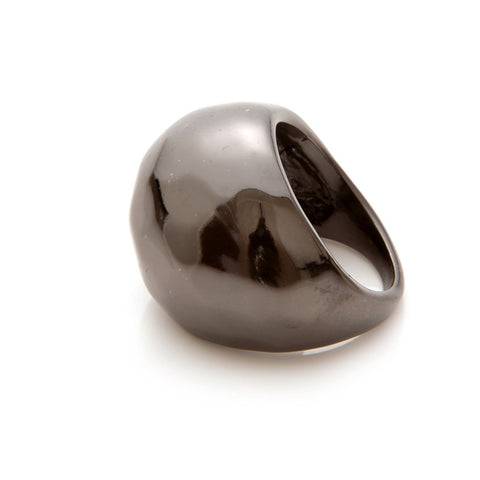 Design Six Hematite Detroit Ring
