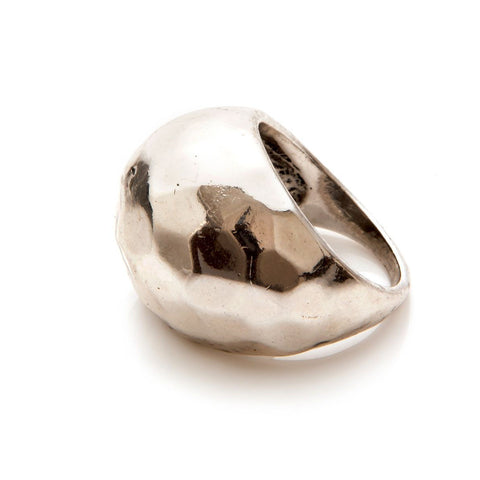 Design Six Silver Detroit Ring
