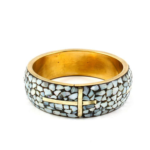 Mosaic Cross Bracelet