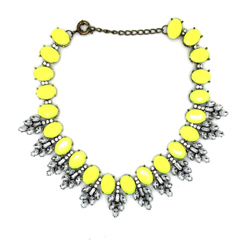 Neon Jewelled Necklace