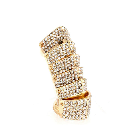 Pave Armour Ring