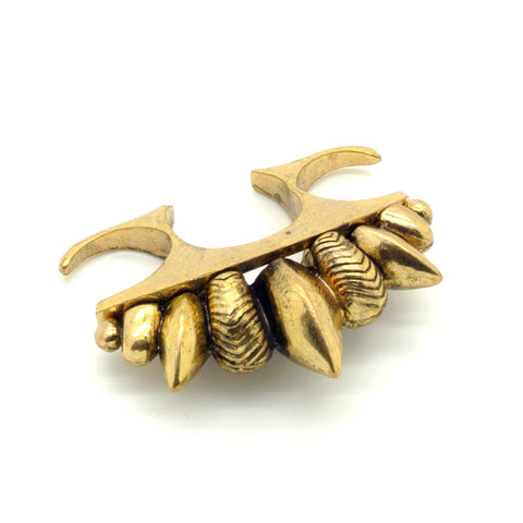 Punk Triple Finger Ring