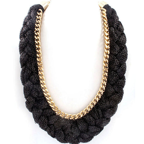 Black Sasha Necklace