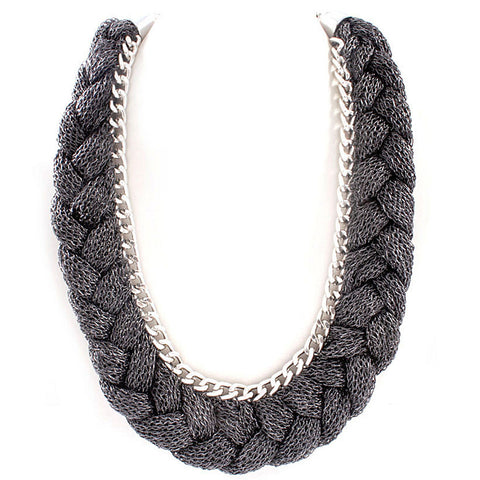 Grey Sasha Necklace
