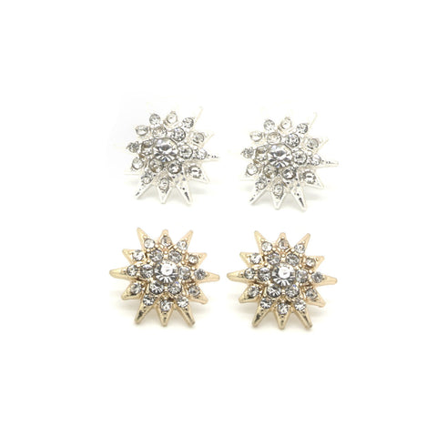 Sunburst Earring Set