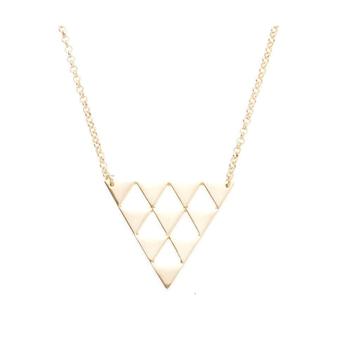 Design Six Gold Sutton Necklace