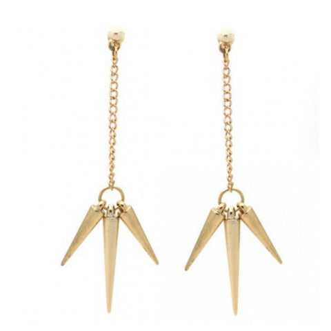 Triple Dagger Earrings