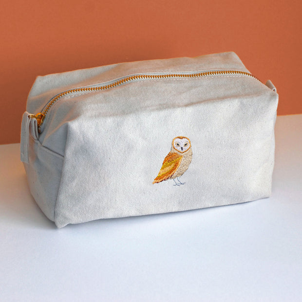 barn owl accessory bag