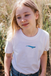 blue whale childrens t-shirt