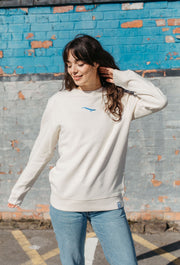 blue whale womens sweatshirt