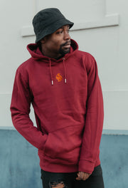 red squirrel mens hoodie