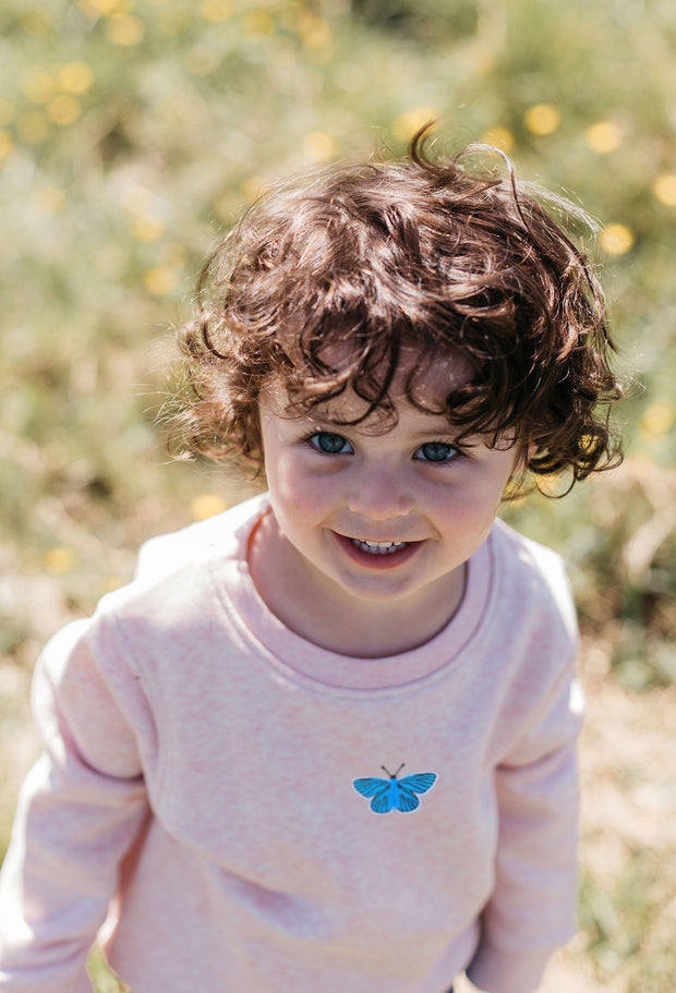 butterfly childrens sweatshirt