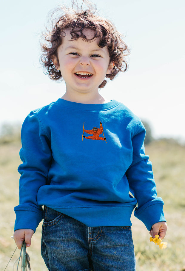 orangutan childrens sweatshirt