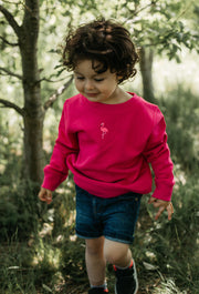 flamingo childrens sweatshirt