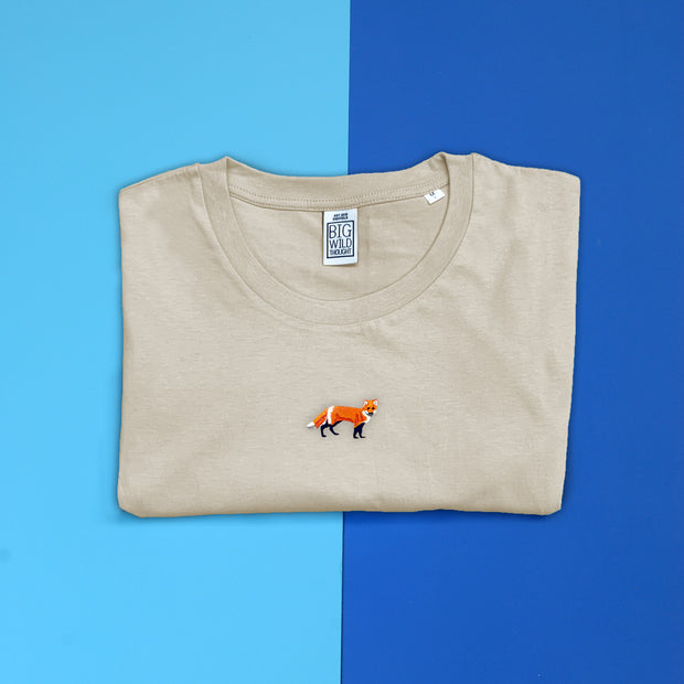 red fox mens t-shirt