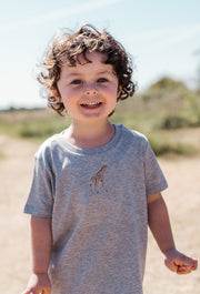 giraffe childrens t-shirt