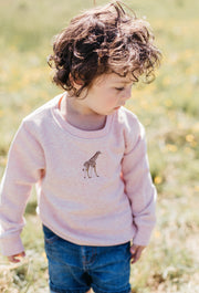giraffe childrens sweatshirt