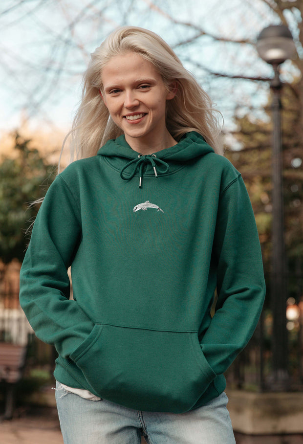 dolphin womens hoodie