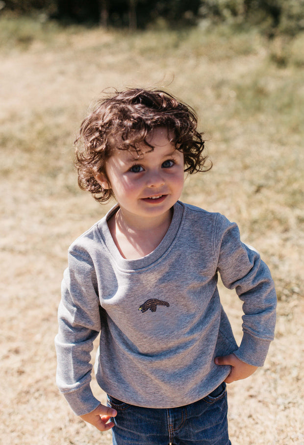 pangolin childrens sweatshirt