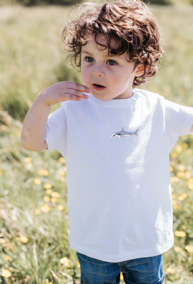 hammerhead shark childrens t-shirt