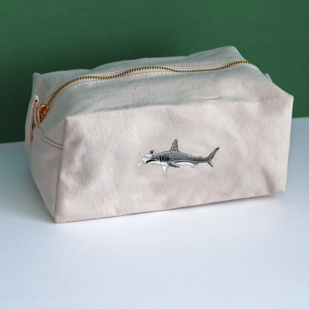 hammerhead shark accessory bag