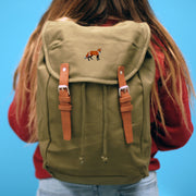 red fox rucksack / backpack