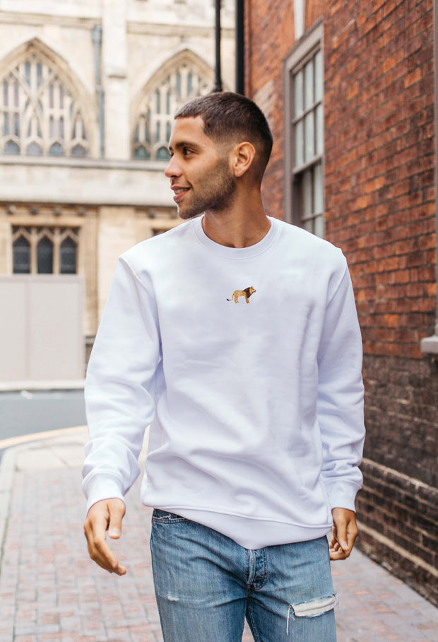 lion mens sweatshirt